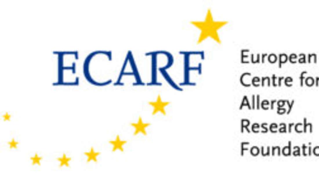 Das Logo der Europäischen Allergiestiftung (ECARF).