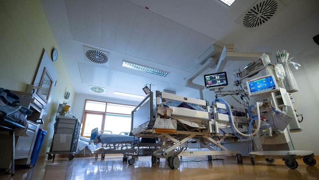 Covid-Patienten auf der Intensivstation